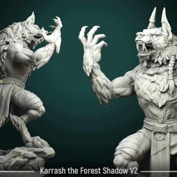 D/&D Dungeons and Dragons White Werewolf Tavern Goblin Miniatures DND